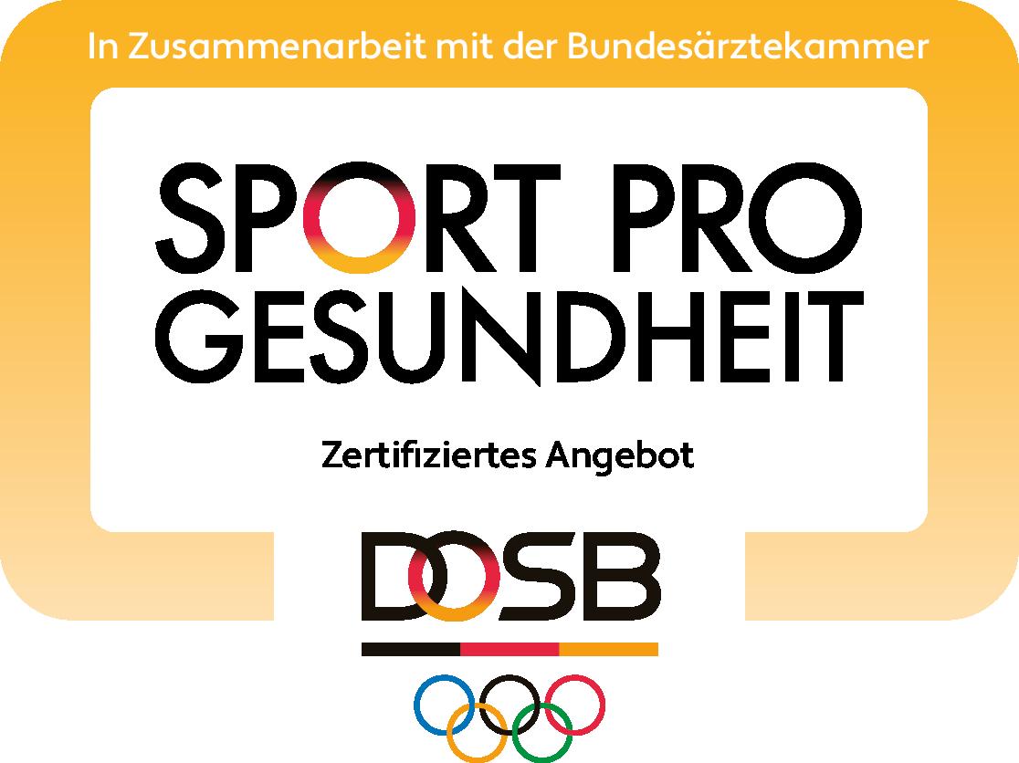 Sport Pro Gesundheit Siegel