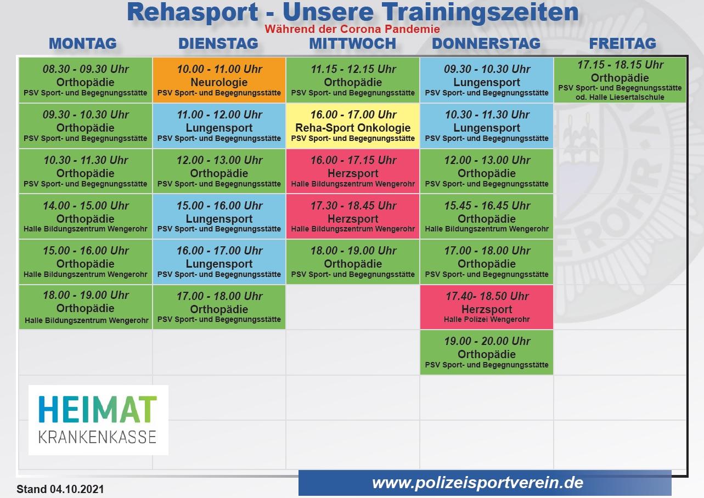 RehaTrainingszeiten4.10.2021